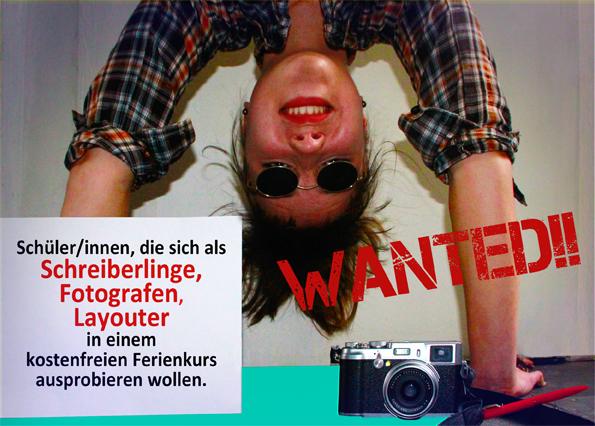 Ferienangebot Dresden | Journalistenschule für Schüler/innen
